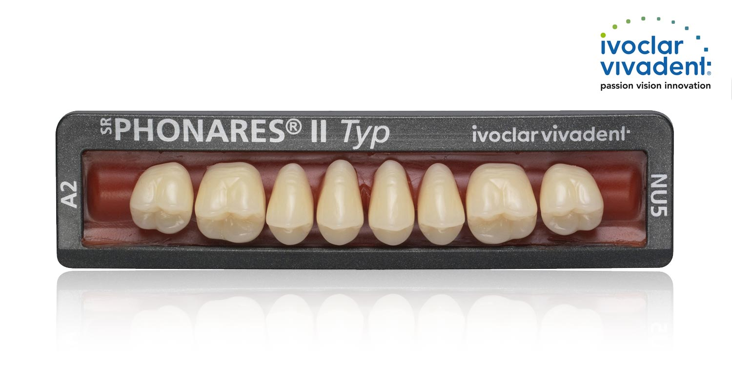 Ivoclar Vivadent SR Phonares denture teeth