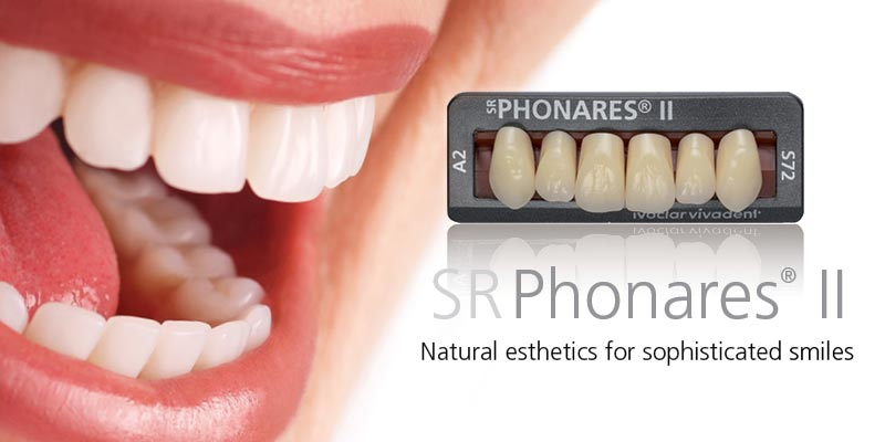 Vivadent Phonares II denture teeth